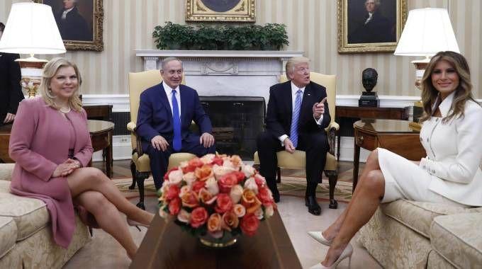 La foto ufficiale alla Casa Bianca