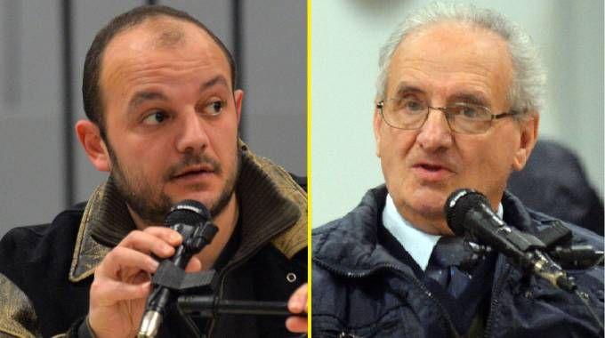 Alberto Biggiogero e il padre Ferruccio