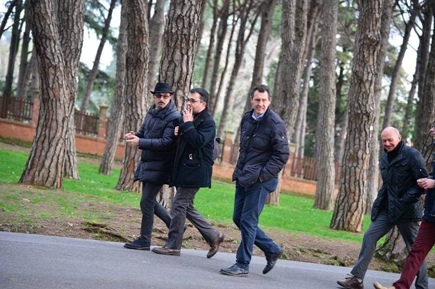 Inaugurazione del percorso di allenamento nel parco termale di Montecatini (foto Regalami un sorriso onlus)
