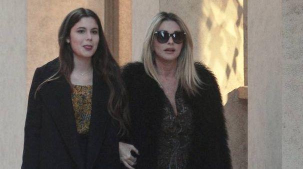 Paola Ferrari con la figlia