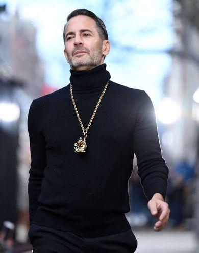 Lo stilista Marc Jacobs
