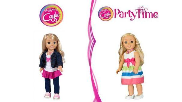 La bambola americana Cayla accusata di spiare (Ansa)
