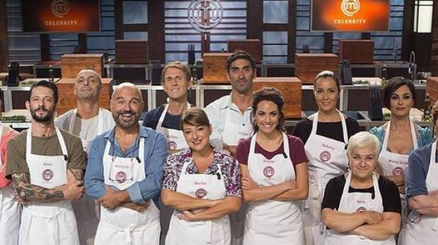 Il cast di CelebrityMasterChef Italia