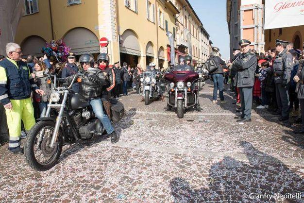 Carnevale di Cento, bikers (foto Gianfranco Nepitelli)