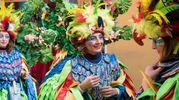 Carnevale di Cento, splendidi costumi (foto Gianfranco Nepitelli)