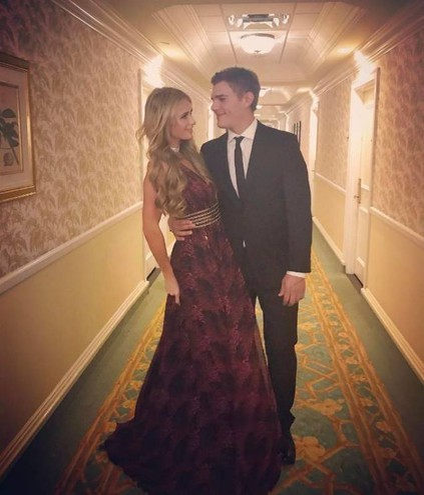 Paris Hilton con Chris Zylka (Instagram)