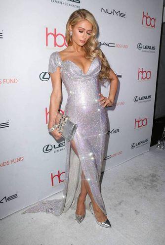 Paris Hilton ai Beauty Awards, Hollywood (Olycom)