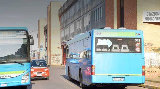 Autobus a Pavia