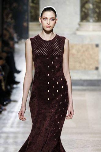 Bellissima atmosfera. Unica, proprio come avrebbe voluto papà, racconta radiosa la stilista Giulia Marani, 33 anni, erede della maison di Correggio (Foto Olycom)