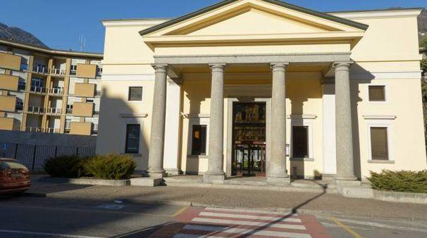 L'ospedale di Sondrio (N.P.)