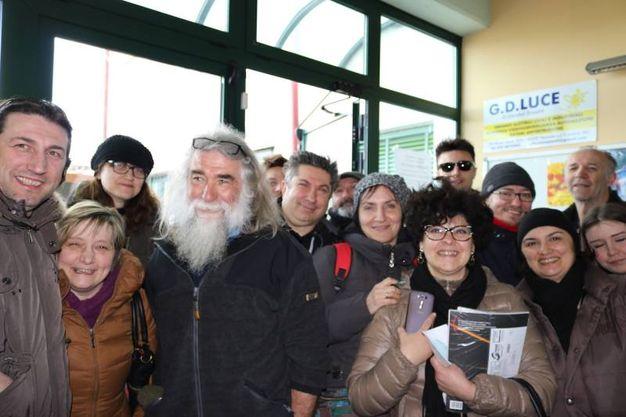 Alcuni dei fan di Ligabue