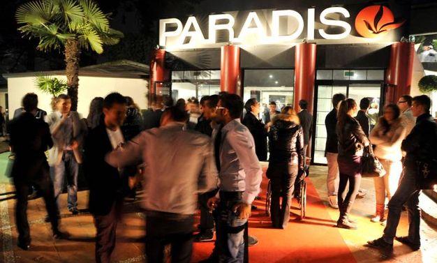 Paradiso - Rimini, ieri
