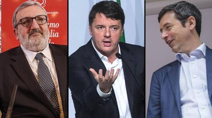 Emiliano, Renzi e Orlando: tre sfidanti per le primarie Pd