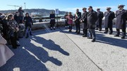 L'intitolazione del molo di Levante ad Annarita Curina (Fotoprint)