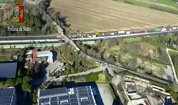L'autostrada è interrotta tra Ancona Sud e Loreto