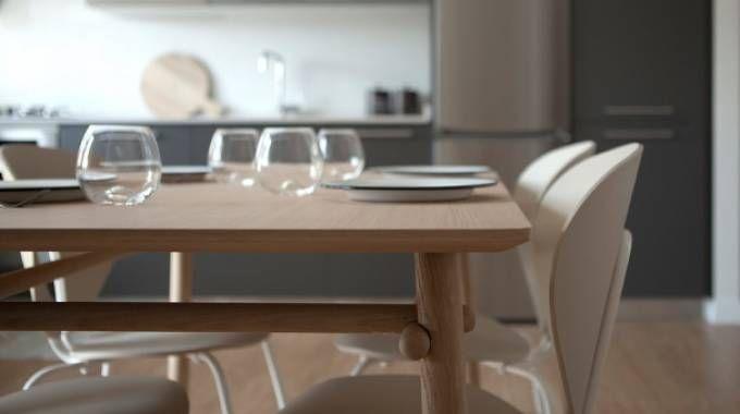 Basoa, un tavolo dall'estetica senza tempo