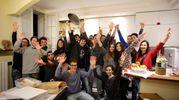 La grande festa con Valerio Braschi e gli amici  (Foto Petrangeli)
