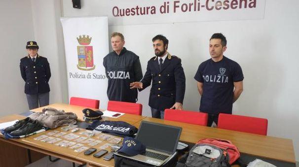 Forlì, furti in case e negozi. Due arresti e due denunce (foto Frasca)