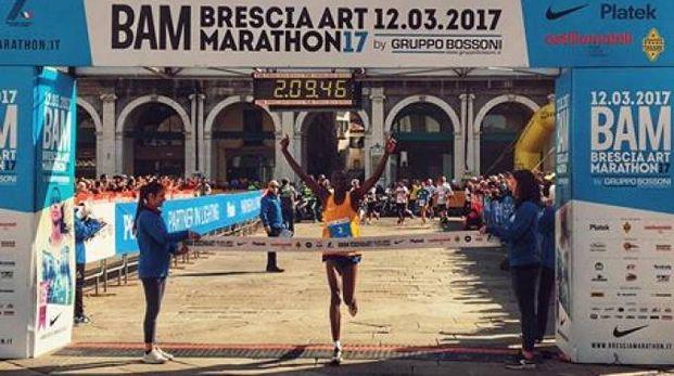 Il vincitore della Brescia Art Marathon (Foto Facebook)