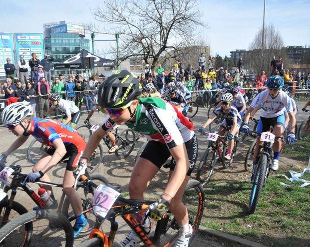 Campionato internazionale di bike ciclismo alla montagnetta San Siro Montestella