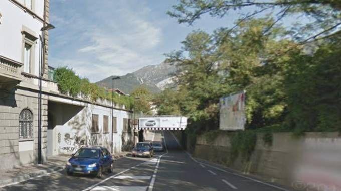 Il cavalcavia ferroviario di via Giovanni Amendola