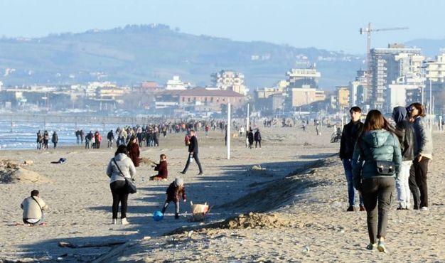 Rimini, ecco come cambia la spiaggia di Marina Centro - Cronaca ...