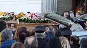 Crollo del ponte in A14, commozione ai funerali dei coniugi morti (foto Labolognese)