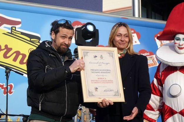 Premio allegoria (foto Umicini)