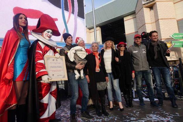Premio alla famiglia Lebigre (foto Umicini)