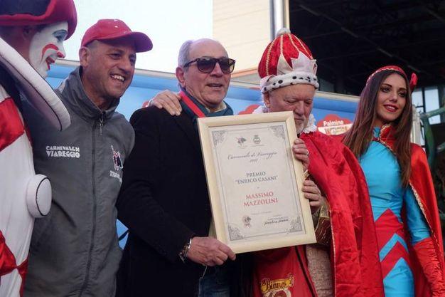 Premio a Massimo Mazzolini (foto Umicini)