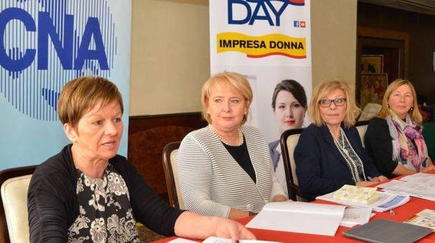 Adelina Bianchi, Simonetta Rubinato, Paola Sansoni,  Simonetta Pregnolato e Antonella Toffanello