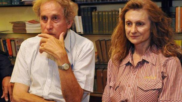 Luigi Deambrosis e Gabriella Carsano (Ansa)
