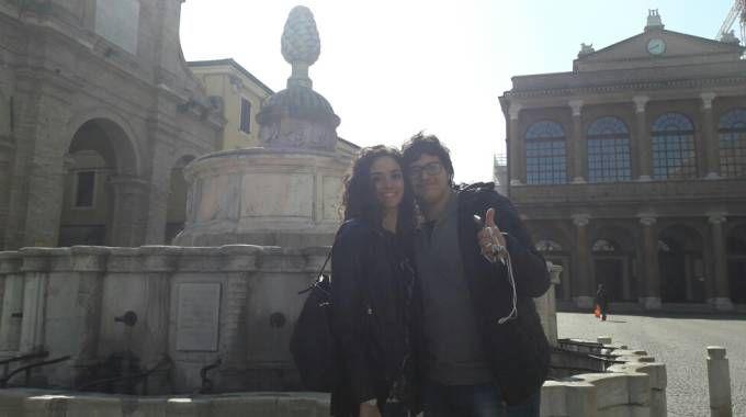 Masterchef 6, Valerio e Cristina in piazza a Rimini