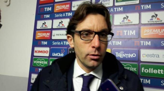 Il tecnico della Fiorentina Primavera, Federico Guidi