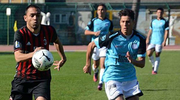 Un'azione di Milan - Belgrano