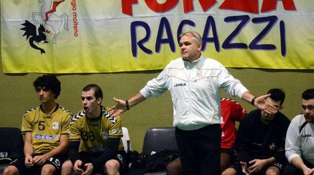 Gaspare Scalia coach del San Giorgio Molteno