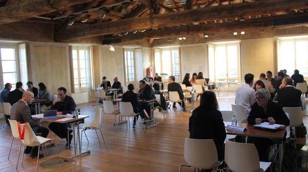 Gli incontri fra imprenditori lombardi e gli architetti statunitensi