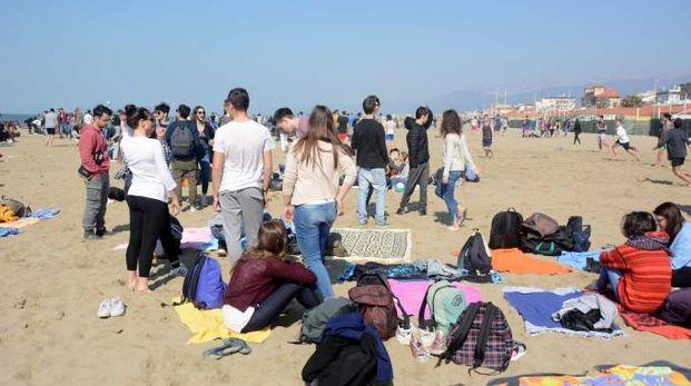 Un'immagine della festa studentesca
