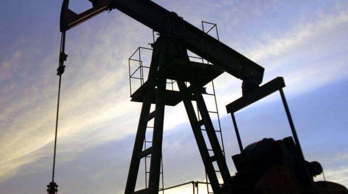 Un impianto per l'estrazione di idrocarburi (repertorio)
