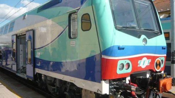 Un treno locale