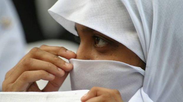 Velo islamico (foto archivio Ansa)