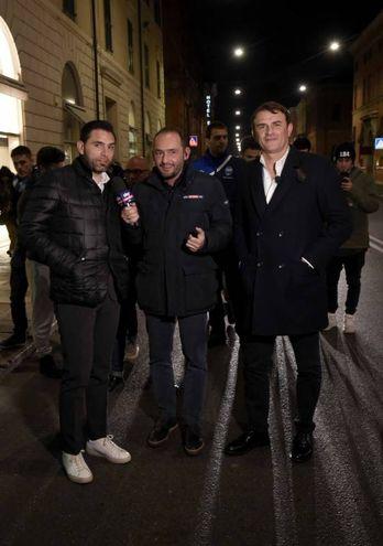 Gian Luca Di Marzio, Davide Vagnati e Leonardo Semplici (foto BusinessPress)