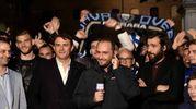 Ferrara in festa con la Spal (foto Businesspress)