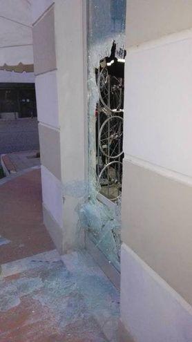 Il vetro distrutto