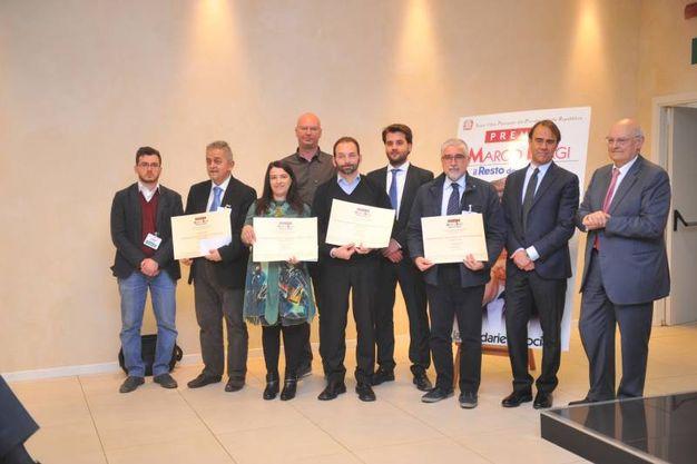 Il gruppo dei premiati di Reggio Emilia (Schicchi)