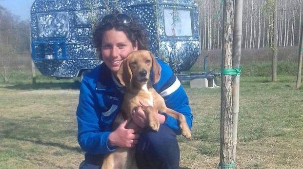 La padrona con il cane