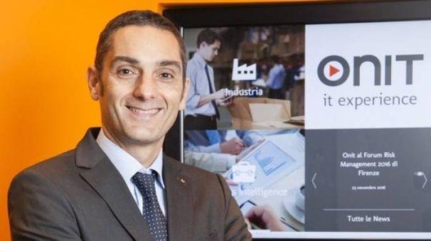 Fabio Piraccini, amministratore delegato di Onit