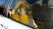 Gessica Notaro arriva al tribunale di Rimini (foto Migliorini)