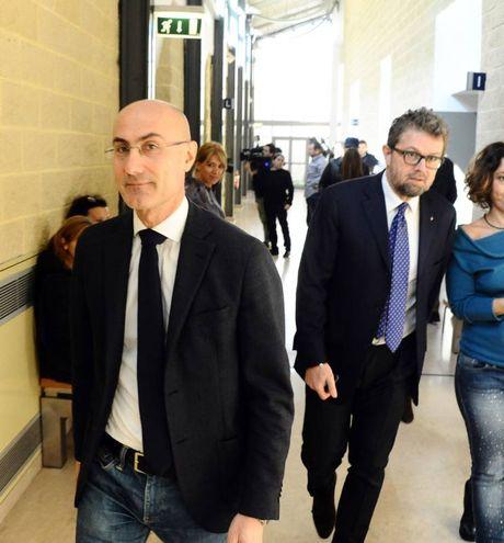 In tribunale a Rimini (foto Migliorini)