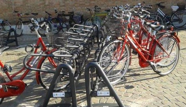 Le bici del bike sharing